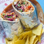 Tempting food at Barburrito, who are participating in Eat Leeds Restaurant Week