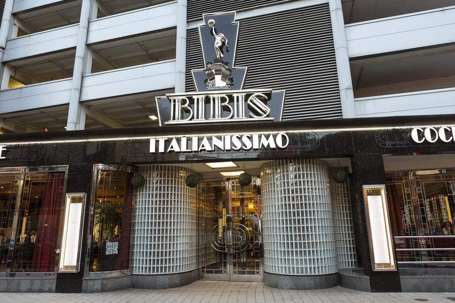 The front entrance of Bibis, which is participating in Eat Leeds Restaurant Week