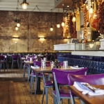 The interior of Jamie's Italian, who are participating in Eat Leeds Restaurant Week