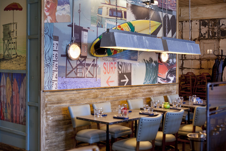 The interior of Limeyard, which is participating in Eat Leeds Restaurant Week
