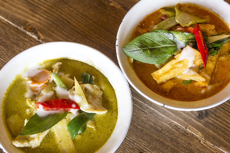 Two dishes at Zaap, which is participating in Eat Leeds Restaurant Week